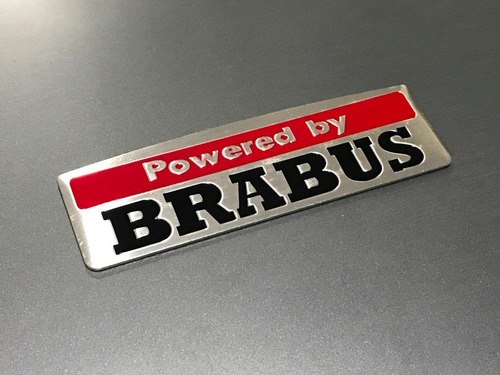 emblema powered by brabus mercedes benz classe a b c e s slk