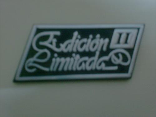 emblema renault 18 edicion limitada ii