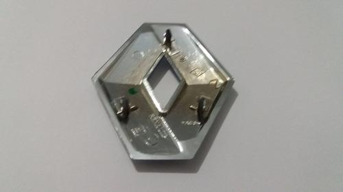 emblema renault mala logan até 2014 + brinde