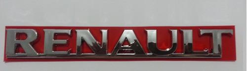 emblema renault sandero logan 09 á 12 cromado