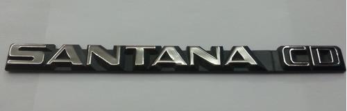 emblema santana cd volkswagen