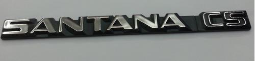 emblema santana cs volkswagen