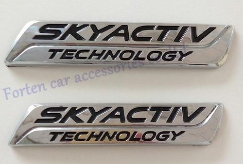 emblema skyactiv technology para mazda