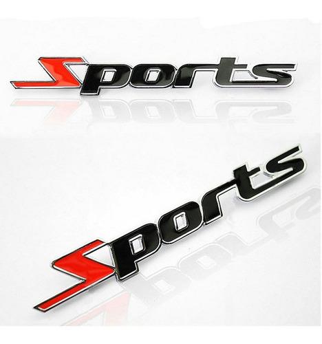 emblema sports metal adesivo 3d tuning carro moto m3 top