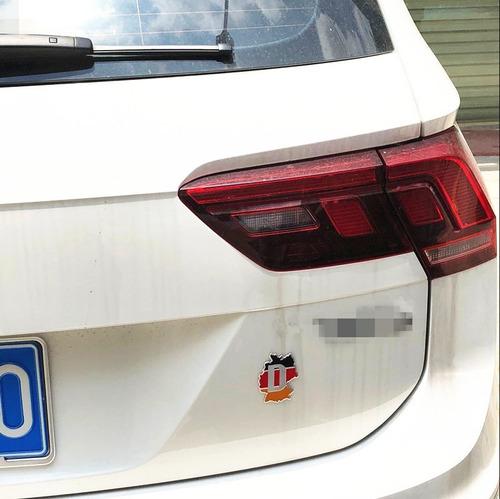 emblema sticker adhesivo plastico emblema alemania auto moto