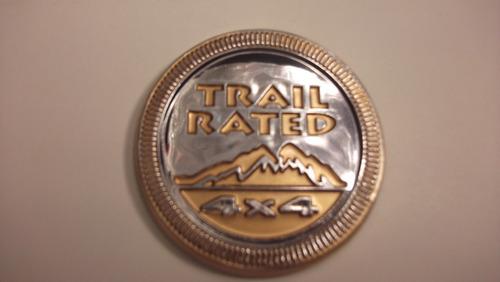 emblema trail rated 4x4  de jeep