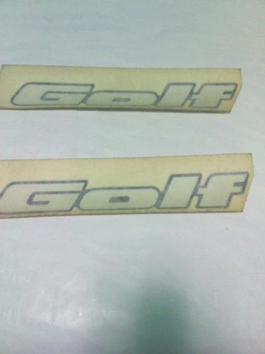 emblema traseiro golf 94 98 gti glx logotipo preto original