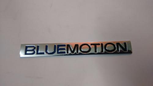 emblema volkswagen bluemotion.