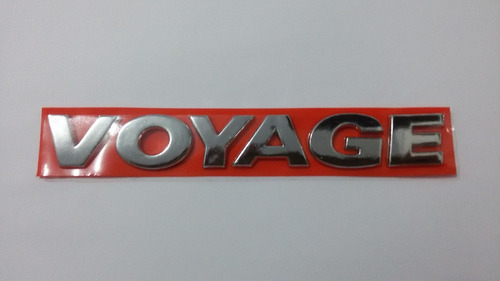 emblema voyage 2013 cromado- emblema voyage g4 g5 g6