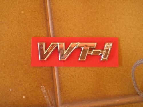 emblema vvt-i toyota corolla 2003 - unitario