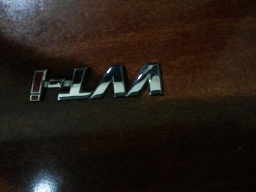 emblema vvti vermelho original