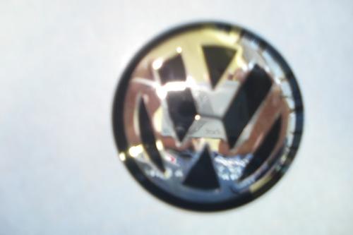 emblema vw 51mm para rodas esportivas