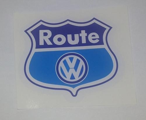 emblema  vw adesivo route fox/ spacefox