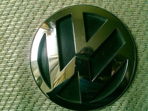 emblema vw original 10.2cm diametro