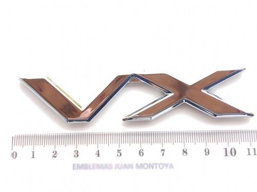 emblema vx y txl para toyota prado