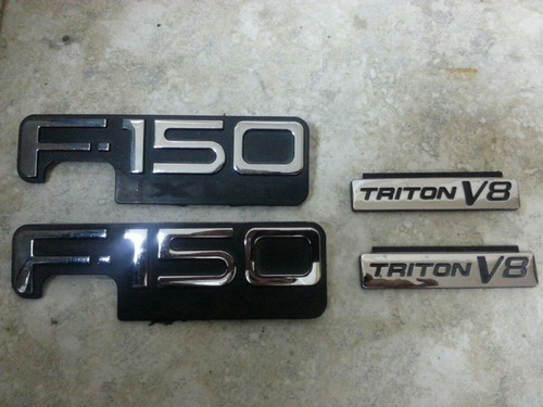 emblemas de ford  f150 tritón originales