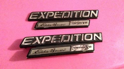 emblemas de guardafangos expedition eddie bauer triton v8