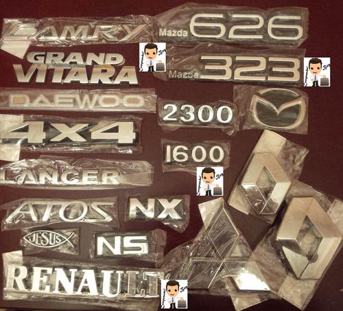 emblemas escudos cromados logos para carros nuevos