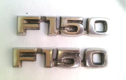 emblemas f-150 lariat pequeños años 80-90