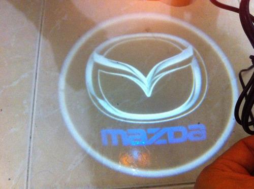 emblemas multimarca led para las puertas logos de pegar
