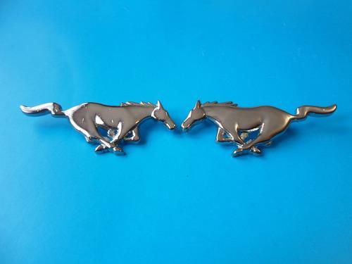 emblemas mustang caballos 10.5 cm. clasico moderno ford