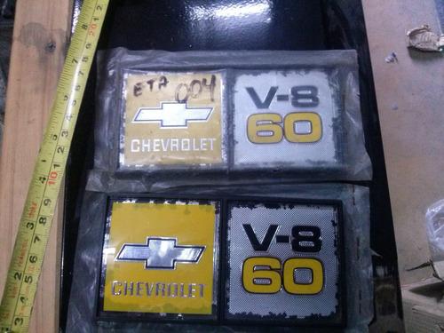emblemas originales el par chevrolet c60