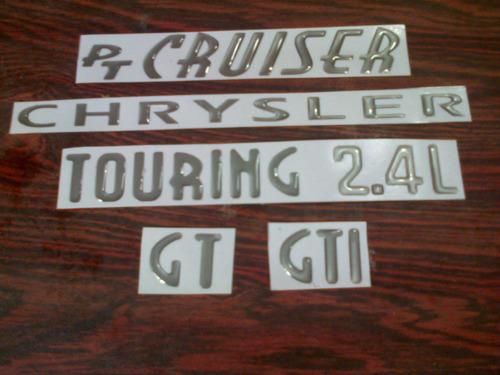 emblemas para chrysler pt cruiser ( precio por unidad )