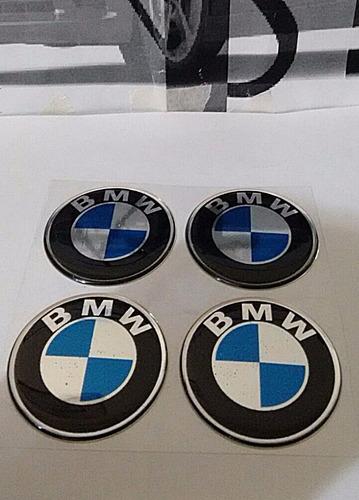 emblemas resinados para rodas e calotas logomarca bmw .