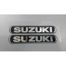 Emblemas Tampa Lateral Da Suzuki Intruder125 2012 Ac