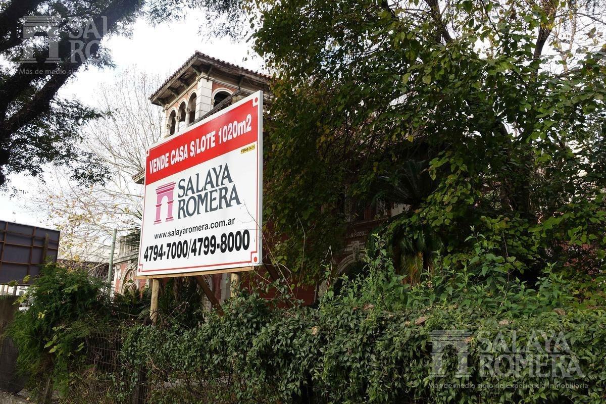 emblemática casa en venta - olivos