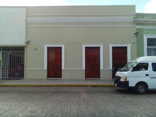 emblemático edificio en renta en el centro de mérida