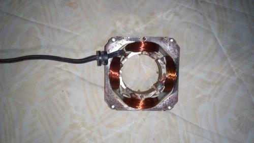 embobinado estator ventilador marca motorvenca