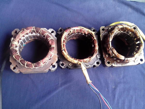 embobinado . rebobinado motor lavadora doble tina