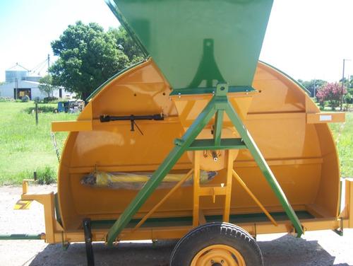 embolsadora de grano entero  tecnoforraje , hecha para durar