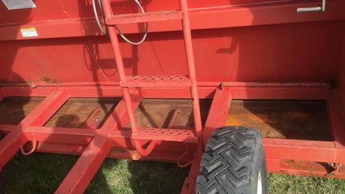 embolsadora de granos akron de 9 pies
