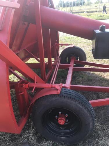 embolsadora de granos para descargas con camiones de 9 pies