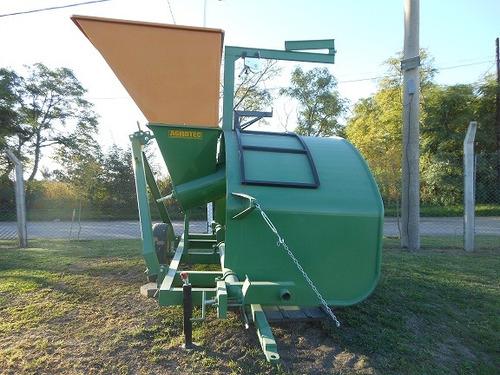 embolsadora de granos secos agrotec