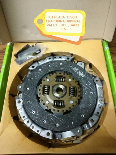 embrague kit valeo gol-gacel-senda-saveiro motor 1.6