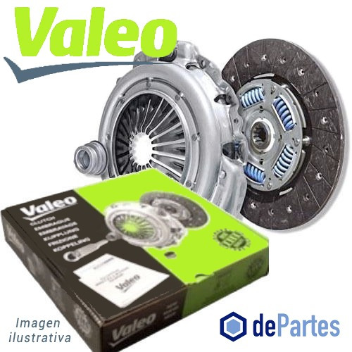 embrague valeo vw gol,senda,power 1.0 97/00(kit c/crap)