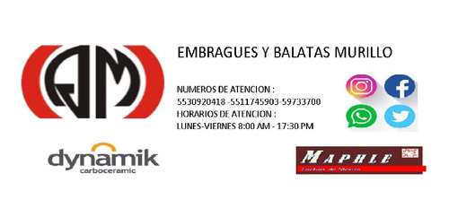 embragues y balatas murillo