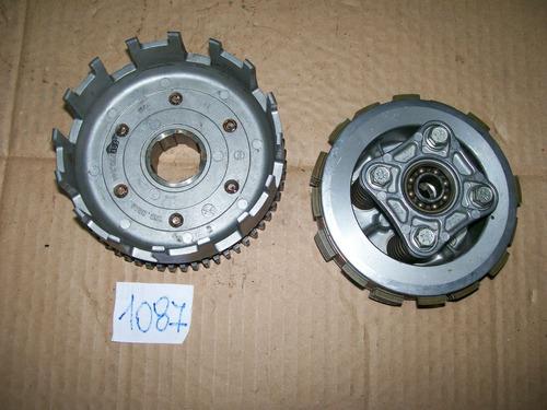 embreagem completa motor honda cg fan 125 até 08 (usada)