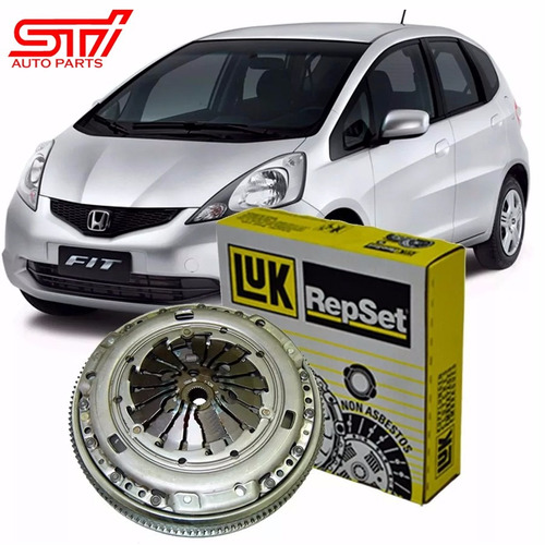 embreagem honda fit ex exl lx twist 2008 a 2014 kit luk