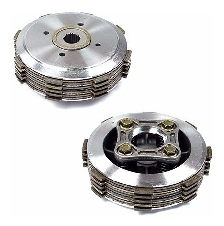 embreagem kit titan 150cc / fan150 / fan125 2009 cobreq