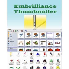 Embrilliance Thumbnailer - Visor Para Matrices De Bordados.