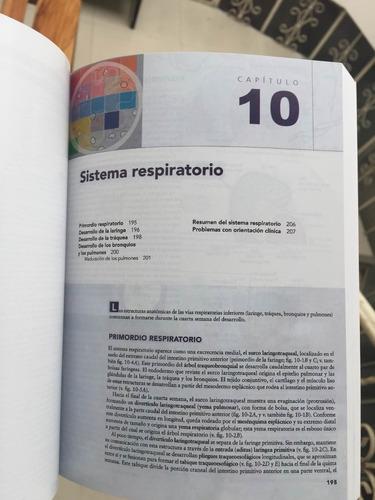embriología moore 10 edición nuevos