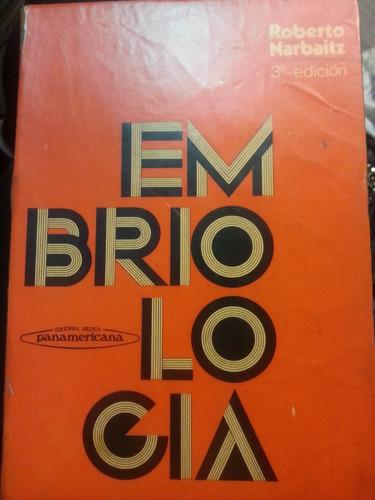 embriología. narbaitz. 3º ed. panamericana