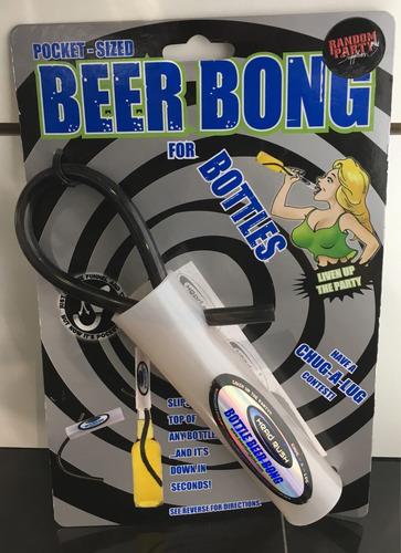 embudo turbo chela para 1 botella de cerveza media bar