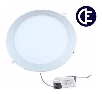 embutido led redondo 18w akai interelec macroled x10unid