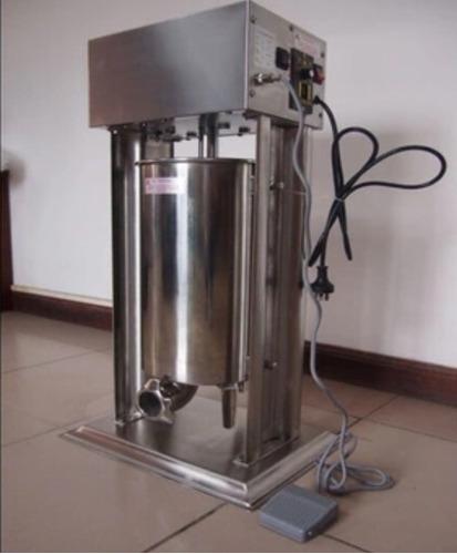 embutidora eléctrica para chorizo,chistorra de 25 lts