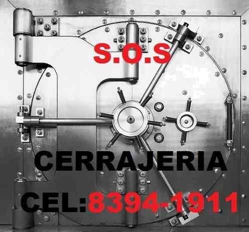 emergencias cerrajeria s.o.s 8394-1911